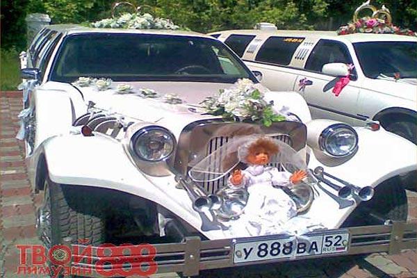 Украшение свадебных машин оригинальное